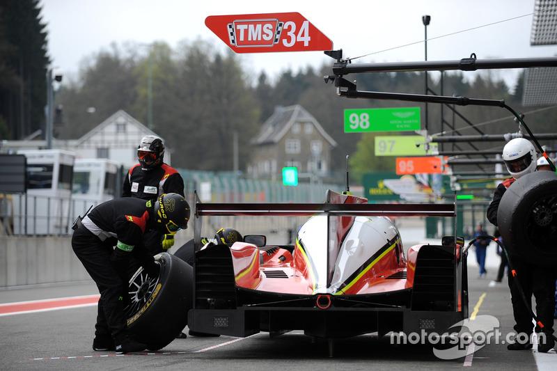 #34 Tockwith Motorsports, Ligier JSP 217: Nigel Moore, Philip Hanson, Karun Chandhok