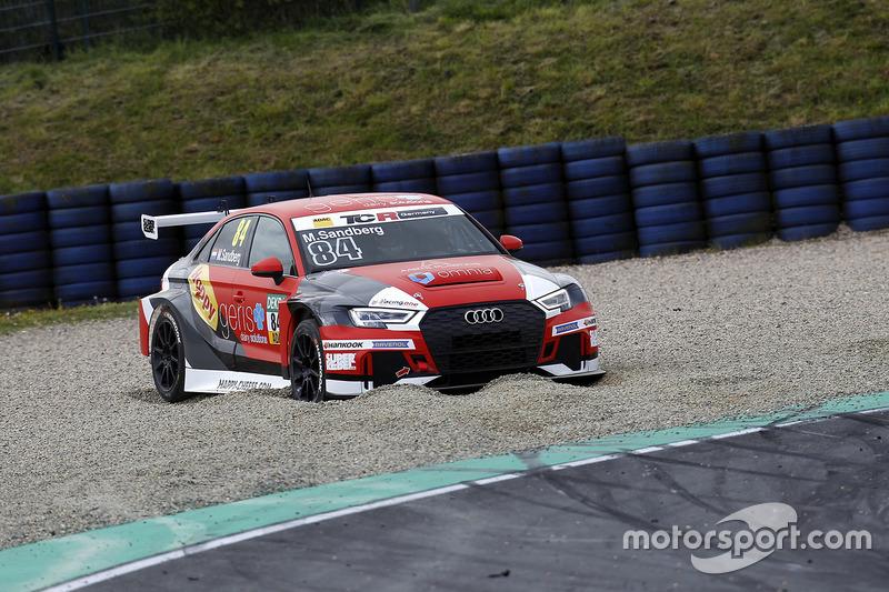 Maurits Sandberg, Racing One, Audi RS3 LMS im Kies