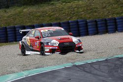 Maurits Sandberg, Racing One, Audi RS3 LMS im Kies
