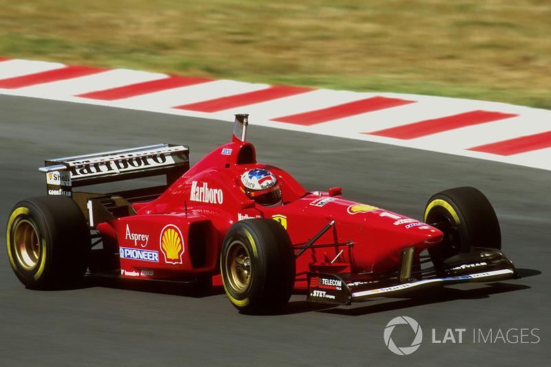 #14 GP de Hungría 1996 (Ferrari F310)