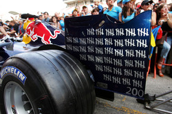 Red Bull Racing are celebrating 200GPs for David Coulthard
