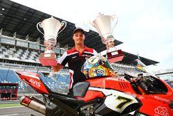 Chaz Davies, Ducati Team, vainqueur de la course