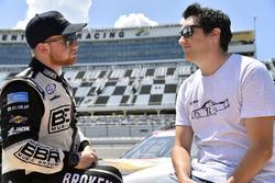 Tyler Reddick, Chip Ganassi Racing Chevrolet e Greg Stumpf
