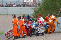 Alex Marquez, Marc VDS, caída