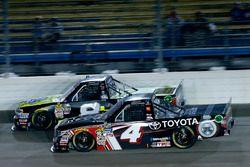 John Hunter Nemechek, SWM-NEMCO Motorsports Chevrolet, Christopher Bell, Kyle Busch Motorsports Toyota