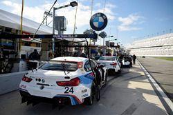 №24 BMW Team RLL BMW M6 GTLM: Джон Эдвардс, Мартин Томчик, Ники Катсбург, Куно Виттмер, №19 BMW Team