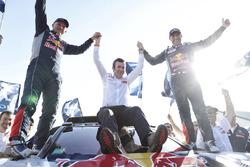 Winners Stéphane Peterhansel, Jean-Paul Cottret, Peugeot Sport with Bruno Famin