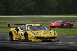 #31 TR3 Racing Ferrari 488 GT3: Daniel Mancinelli, Andrea Montermini