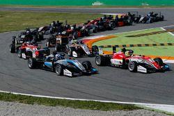 Maximilian Günther, Prema Powerteam Dallara F317 - Mercedes-Benz, Ralf Aron, Hitech Grand Prix, Dall