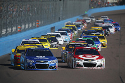 Start: Alex Bowman, Hendrick Motorsports, Chevrolet, führt