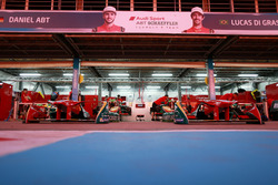 Garage of ABT Schaeffler Audi Sport