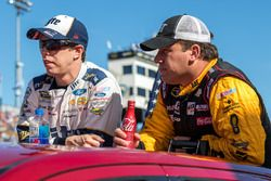 Brad Keselowski, Team Penske, Ford; Ryan Newman, Richard Childress Racing, Chevrolet