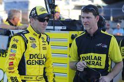 Matt Kenseth, Joe Gibbs Racing Toyota with crew chief Jason Ratcliff
