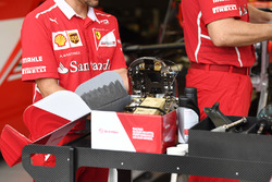 Ferrari SF70H brake caliper detail
