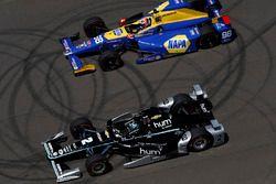 Josef Newgarden, Team Penske Chevrolet, Alexander Rossi, Herta - Andretti Autosport Honda