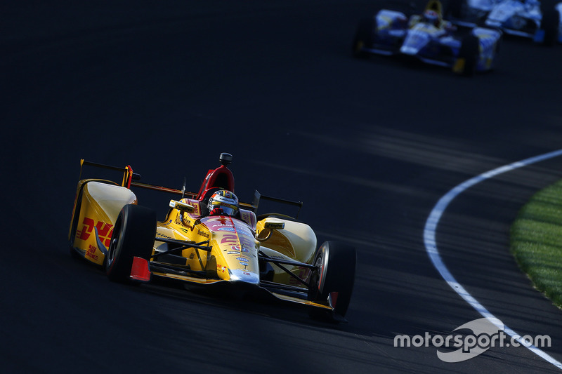 #28 Ryan Hunter-Reay, DHL / Honda