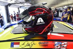 Calcomanía de Nicky Hayden en el coche de Dale Earnhardt Jr., Hendrick Motorsports Chevrolet