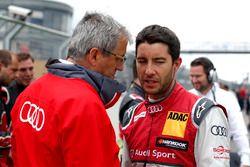 Ernst Moser and Mike Rockenfeller, Audi Sport Team Phoenix, Audi RS 5 DTM