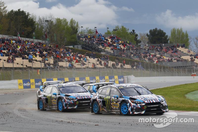 Ken Block, Hoonigan Racing Division, Ford Focus RSRX, Andreas Bakkerud, Hoonigan Racing Division, Fo