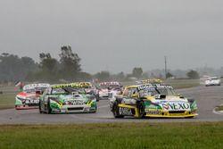 Omar Martinez, Martinez Competicion Ford, Diego De Carlo, LRD Racing Team Chevrolet, Juan Martin Bruno, UR Racing Dodge