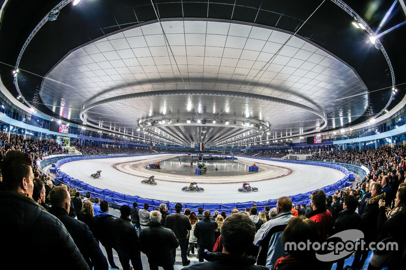 Все окончательно решится совсем скоро: заключительный Финал Ice Speedway Gladiators состоится уже 7-8 апреля на новенькой арене в голландском Херенвене