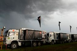 X-Raid Team trucks