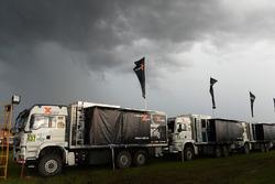 Les camions du X-Raid Team