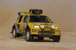 #206 Peugeot: Shekhar Mehta, Mike Doughty