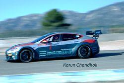 Karun Chandhok, Tesla S EGT