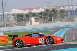 #80 Kessel Racing, Ferrari 458 GT3 Deborah Mayer, Sergio Pianezzola, Claudio Schiavoni