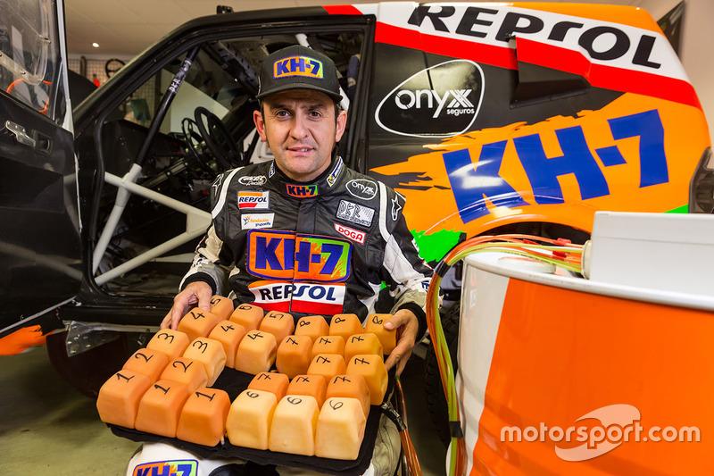 Isidre Esteve, KH-7 Rally Team met intelligent kussen