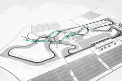 Diagrama aéreo del circuito