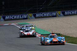 #34 Tockwith Motorsports Ligier JS P217 Gibson: Nigel Moore, Philip Hanson, #2 Porsche Team Porsche