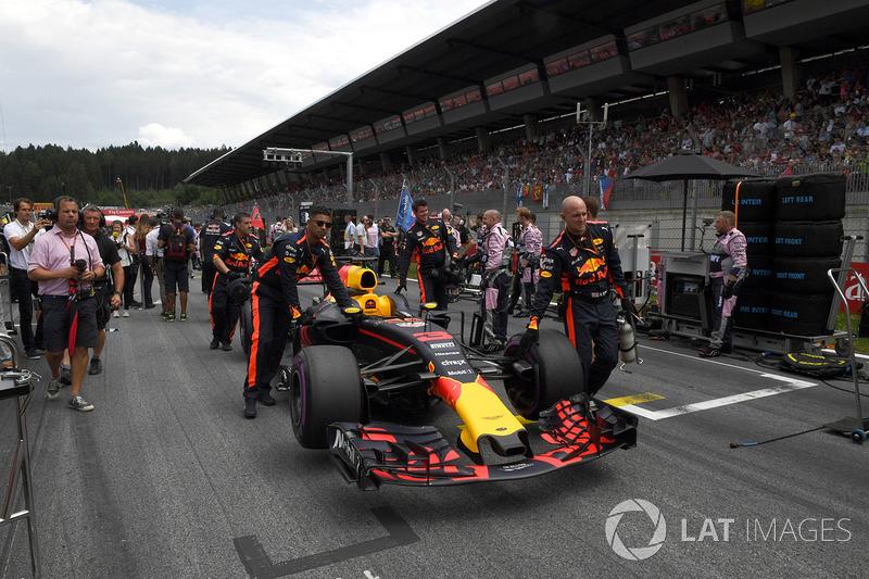 Болід Даніеля Ріккардо, Red Bull Racing RB13