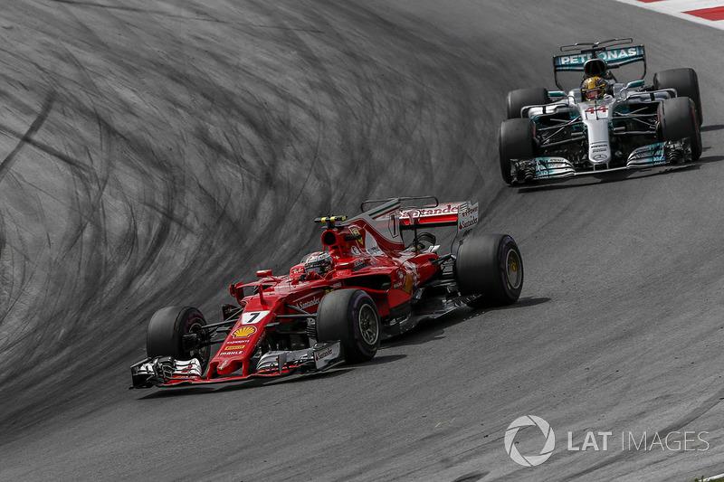 5e Kimi Raikkonen, Ferrari SF70H