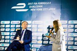 Jean Todt nella conferenza stampa