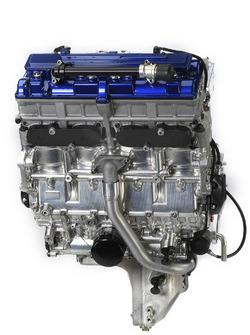 Motor der Yamaha YZR-M1