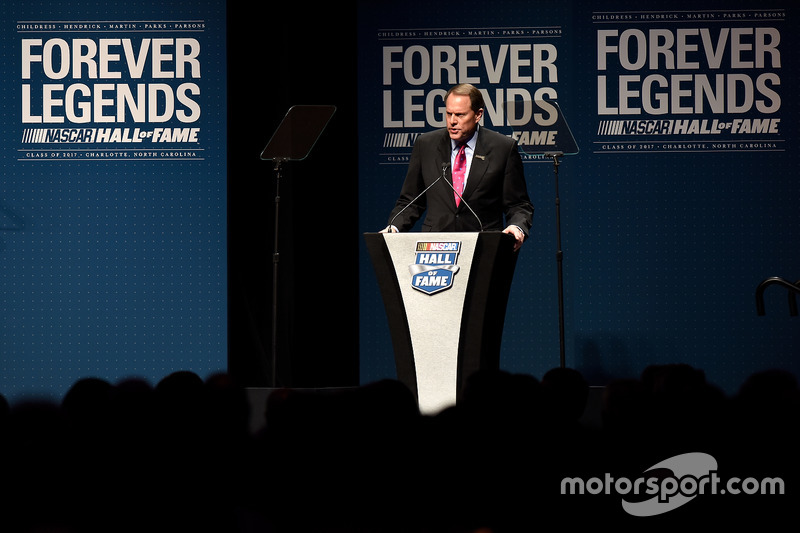 Winston Kelley, Director Ejecutivo del Salón de la Fama de NASCAR
