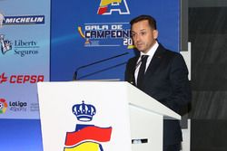 Manuel Aviñó, presidente de la RFEdA