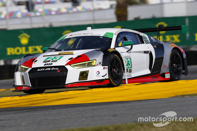 6. GTD: #23 Alex Job Racing, Audi R8 LMS GT3