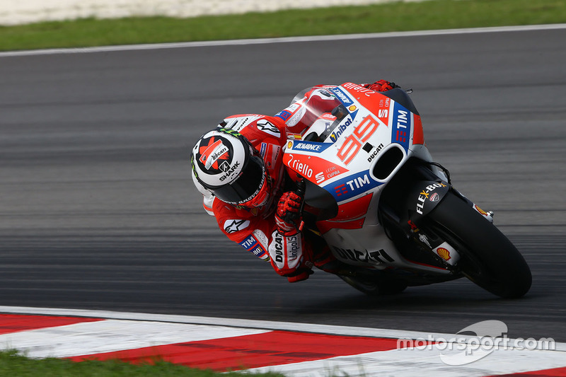 10º Jorge Lorenzo (Ducati) 1:59.767 a 0.399