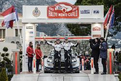 Les troisièmes, Ott Tänak, Martin Järveoja, Ford Fiesta WRC, M-Sport