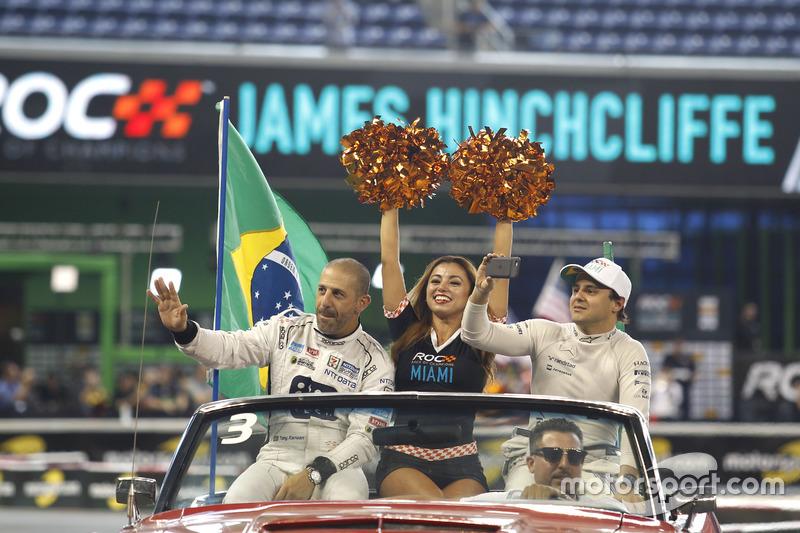 Тони Канаан и Фелипе Масса, команда Бразилии