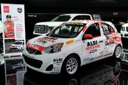 Nissan Micra Cup car of Xavier Coupal