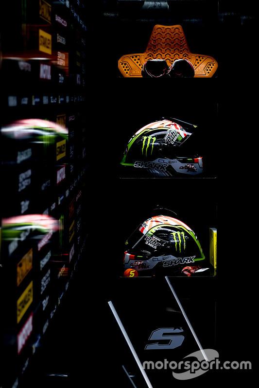 Les casques de Johann Zarco, Monster Yamaha Tech 3