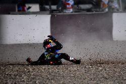 Incidente; Jack Miller, Estrella Galicia 0,0 Marc VDS