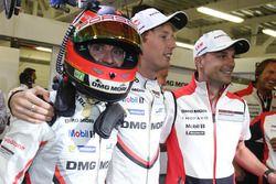 Pole position for #2 Porsche Team Porsche 919 Hybrid: Timo Bernhard, Earl Bamber, Brendon Hartley
