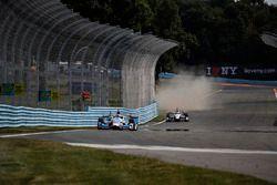 Scott Dixon, Chip Ganassi Racing Honda, Helio Castroneves, Team Penske Chevrolet