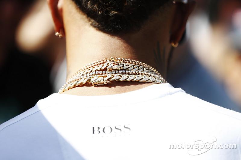 Helskette von Lewis Hamilton, Mercedes AMG