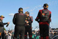 Champagne en el podium
